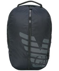 Emporio Armani | Logo Print Backpack Nylon