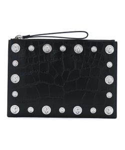 Versus | Lion Head Crocodile Effect Clutch