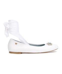 Chiara Ferragni | Front Strap Ballerina Shoes