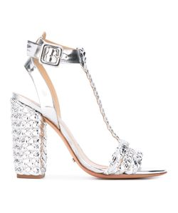 SCHUTZ | Woven Sandals 37