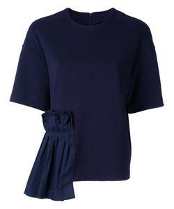 Muveil | Ruffled Detailing T-Shirt Size 38