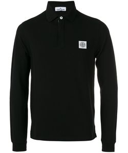 Stone Island | Long-Sleeve Polo Shirt Size Large