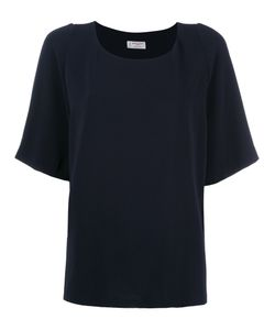 Alberto Biani | Pleated Back T-Shirt 40 Triacetate/Polyester
