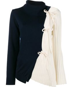 JACQUEMUS | Asymmetric Rear Tied Top 38 Wool