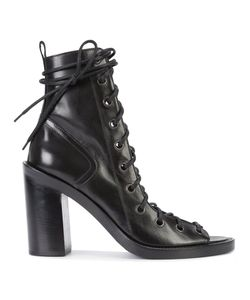 Ann Demeulemeester | Lace-Up Sandals 38 Leather