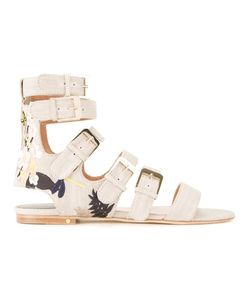 Laurence Dacade | Tropical Sandals 38 Cotton
