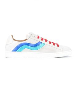 Marc Jacobs   Wave Pattern Sneakers 41 Calf Leather/Leather/Rubber