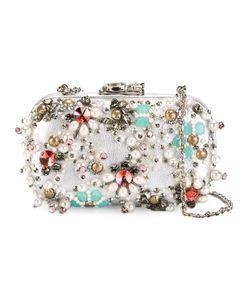 Corto Moltedo | Susan C Star Clutch Bag Nappa Leather/Pearls/Stone/Silk