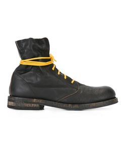 Ann Demeulemeester | Lace-Up Boots 38 Leather