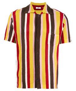 CMMN SWDN | Knit Striped Shirt Size Medium