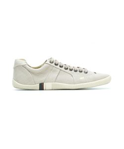 Osklen | Leather Sneakers 41 Leather/Linen/Flax