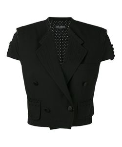Dolce & Gabbana | Cropped Short Sleeve Jacket