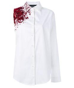 Filles A Papa | Crash Embellished Asymmetric Shirt Size 1