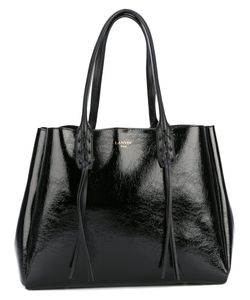 Lanvin | Woven Top Handle Tote
