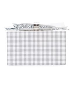 EDIE PARKER | Plaid Box Clutch