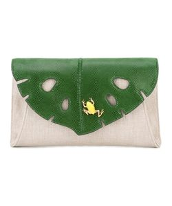 Charlotte Olympia | Frog And Leaf Clutch