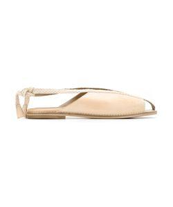 Manolita | Leather Sandals 36