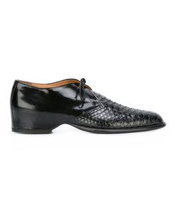 Maison Margiela | Текстурированные Туфли На Шнуровке