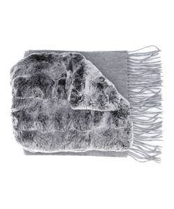 N.PEAL | Rabbit Fur Scarf