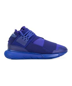 Y-3 | Lace Up Trainers 7.5 Leather/Neoprene/Rubber