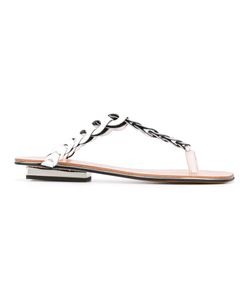 Robert Clergerie | Imani Flip Flops Size 38.5