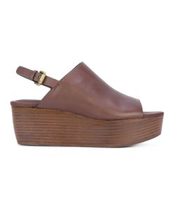 See By Chloe | See By Chloé Stacked Wedge Sandals Calf