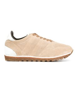 Alberto Fasciani | Perforated Decoration Sneakers 37 Suede/Leather/Rubber/Cotton