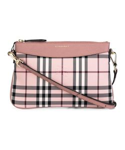 Burberry | Checked Crossbody Bag Nylon/Calf Leather/Polyester