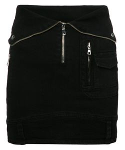 RTA | Fitted Denim Skirt