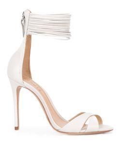 SCHUTZ   Cross Strap Sandals Size 40