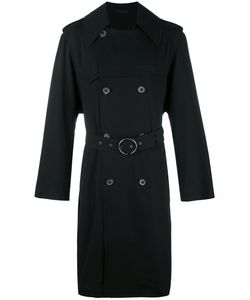 Lanvin | Belted Trenchcoat 46 Wool/Viscose