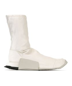 RICK OWENS X ADIDAS | Adidas By Rick Owens Slip-On Hi-Top Sneakers 40.5