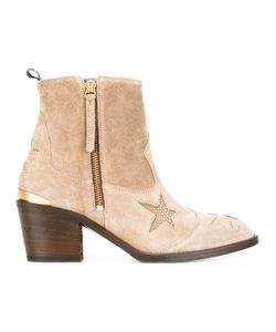 Nubikk | Star Ankle Boots 41 Suede/Leather/Rubber