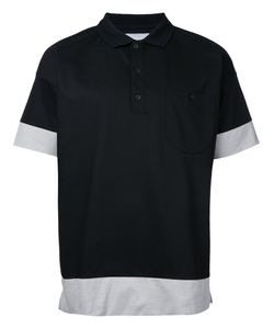 Factotum | Contrast Polo Shirt 44 Polyester/Cotton