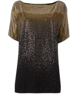 Versace Collection | Studded T-Shirt 44 Viscose/Spandex/Elastane