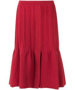 EGREY | Draped A Line Skirt P Viscose/Acrylic/Polyamide/Spandex/Elastane