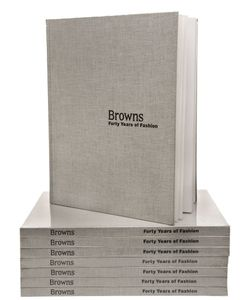 BROWNS | 40 Years Of Fashion Book By Isaac Lock