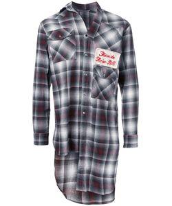 Maison Mihara Yasuhiro | Long Plaid Shirt 46 Cotton/Rayon