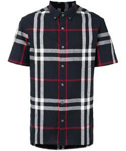 Burberry   Рубашка С Короткими Рукавами В Клетку
