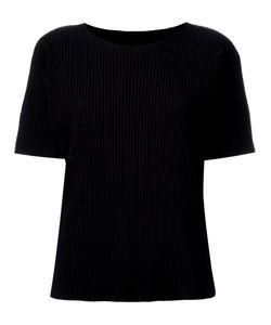 Issey Miyake Cauliflower | Ribbed T-Shirt Polyester