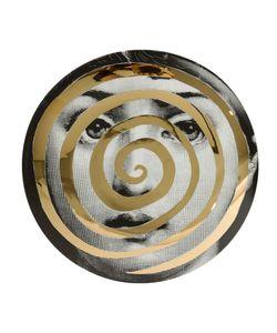 FORNASETTI   Face Spiral Plate