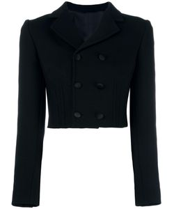 Dolce & Gabbana | Double Breasted Cropped Jacket 44