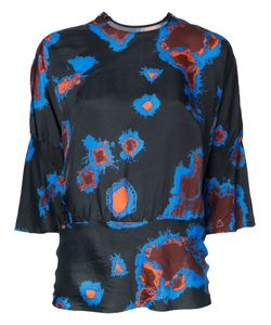 Theatre Products   Abstract Print Blouse Cupro