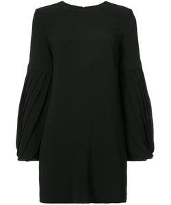 Brandon Maxwell | Pleated Sleeves Dress Women