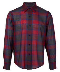 FACETASM   Plaid Shirt 3