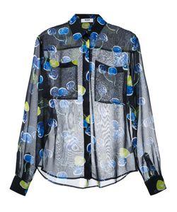 MSGM | Рубашка С Акварельным Принтом