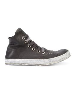 A DICIANNOVEVENTITRE | S2 Hi-Tops 41 Rubber/Leather