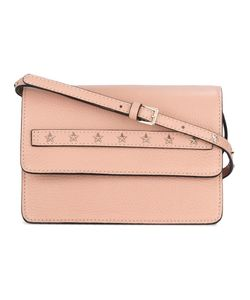 Red Valentino | Star Studded Cross-Body Bag Calf Leather/Metal Other