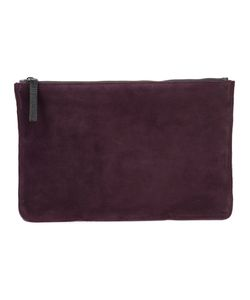 Ann Demeulemeester | Leather-Detailed Clutch One