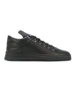 Filling Pieces | Panel Lace-Up Sneakers